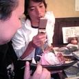 波多江氏「動くな!ぶれる!」 松井氏「早く撮って食べましょうよ〜」